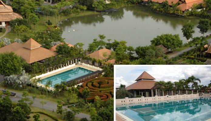 tweechol botanic gardens swimming pool chiang mai