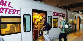 KLIA2 Train