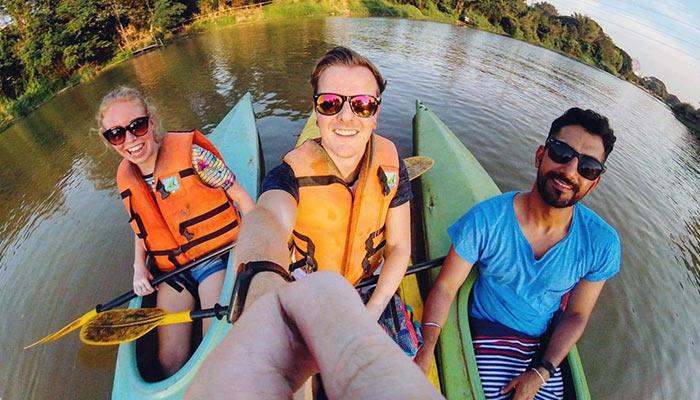 Kayaking Ping River Chiang Mai
