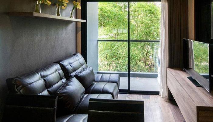 Moda Condo Living Room