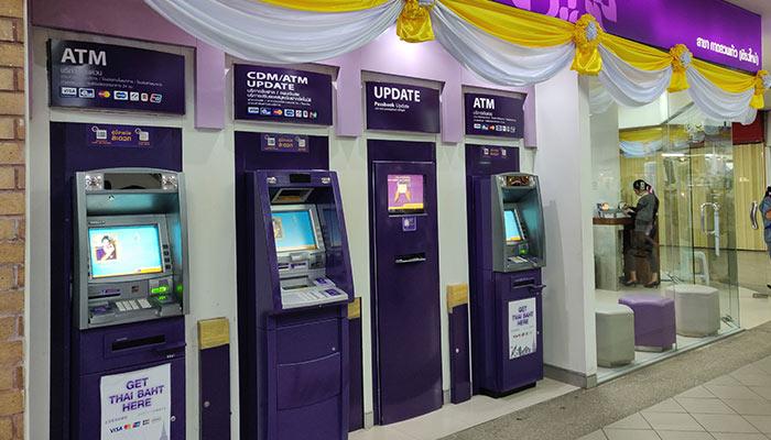 SCB Cash Machine Withdrawal