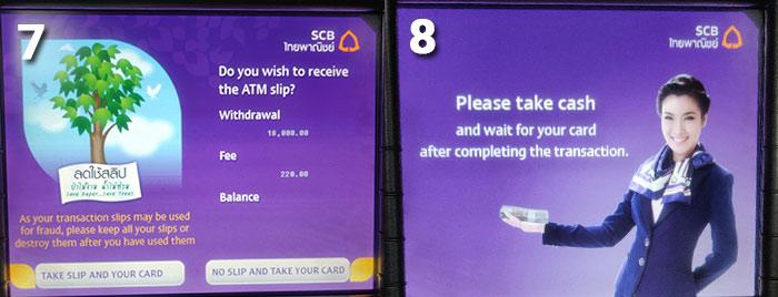 Thailand Cash Machine Step 7 & 8