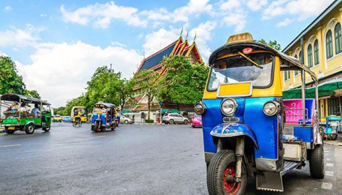Chiang Mai Airport Tuk Tuk