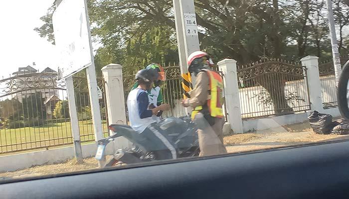 Police Motorbike Checkpoint